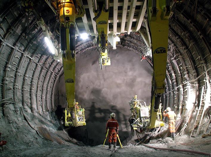tunel ferroviario