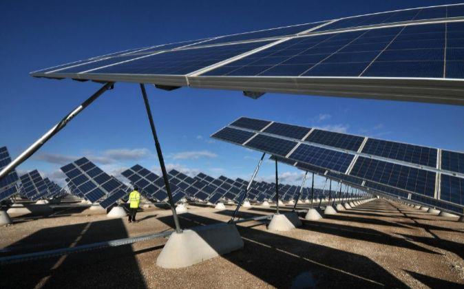 elecnor parque solor fotovoltaico