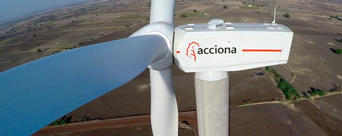 Acciona Energía pone en operación su cuarto parque eólico en India