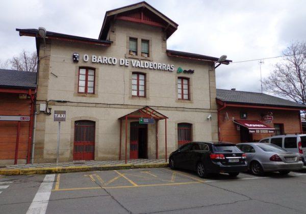 Adif inicia obras de mejora en la estación de O Barco de Valdeorras en Ourense