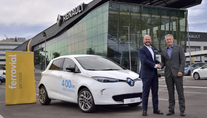 Ferrovial Servicios y Renault lanzan ZITY, su servicio de carsharing en Madrid