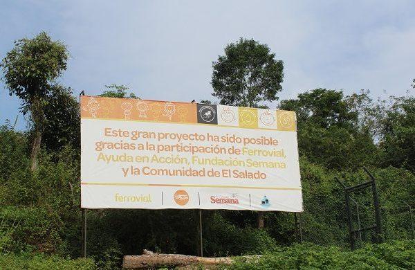 Ferrovial entrega el nuevo sistema de agua a El Salado (Colombia)