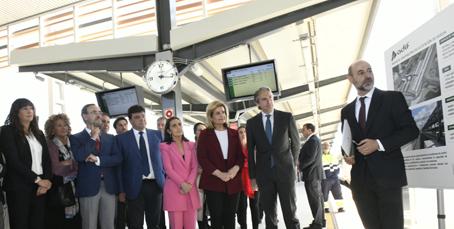 Adif inaugura las instalaciones de la nueva estación de Huelva