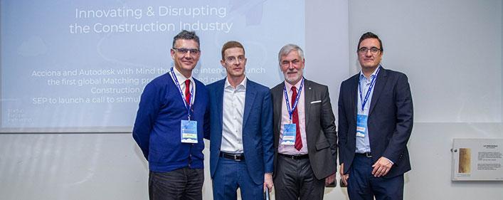 Acciona y Autodesk se unen a Startup Europe Partnership y lanzan la primera Plataforma Europea de Construcción Digital e Infraestructuras