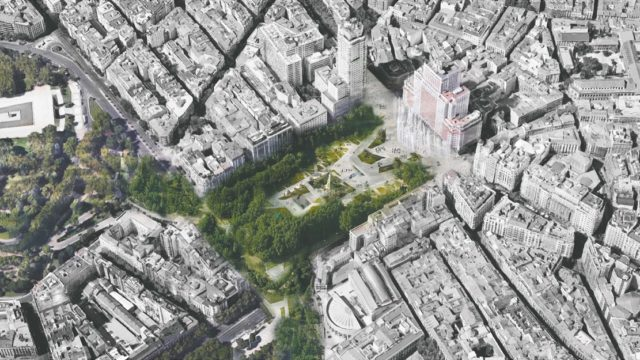 remodelacion plaza españa madrid fcc
